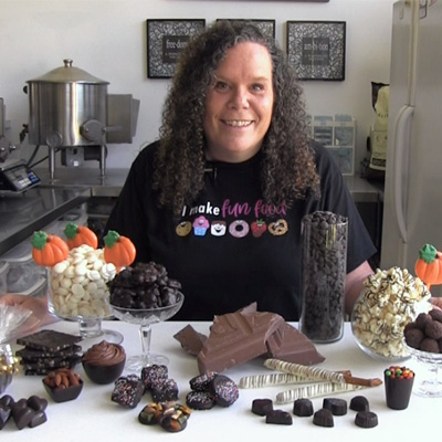 Beth Jackson Klosterboer Chocolatier and Instructor at The Sugar Acadmey