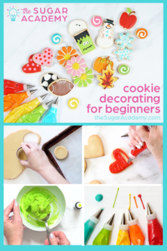 the sugar academy cookie decorating for beginners course
